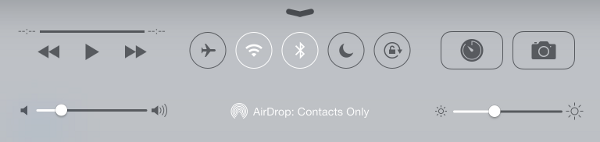 how to turn on airdrop in settings